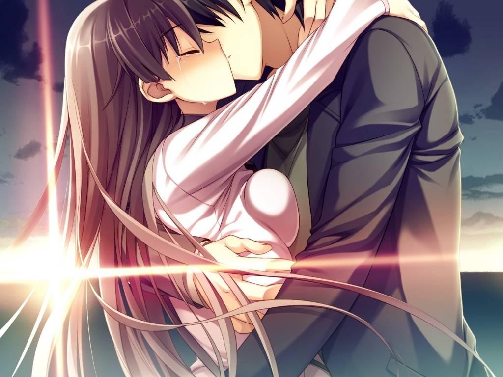 93062 Anime And Manga Romantic Kiss