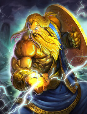 Smite golden zeus by brolo-d6rit2j
