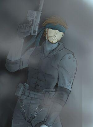 Solid Snake Zero Visibility by xFrEAKk