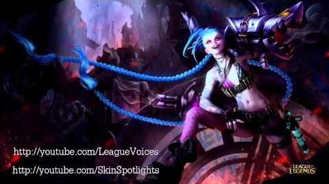 Jinx Voice - English - League of Legends