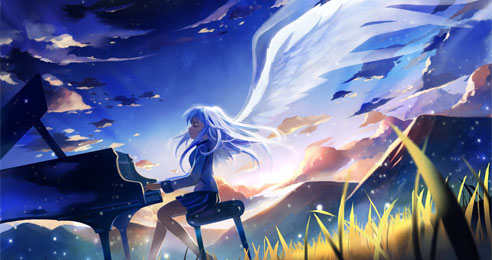 Piano-angel