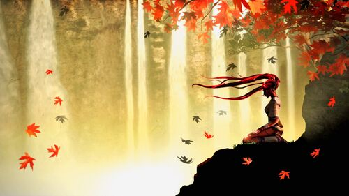 Wallpaper-autumn-meditation-anime-1920-x-1080-full-hd