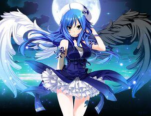Juvia ange demon by nina2119-d7buet6