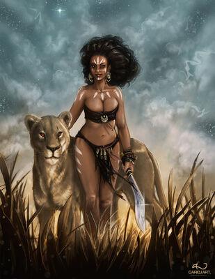 African princess by dariojart-d5nwpgx