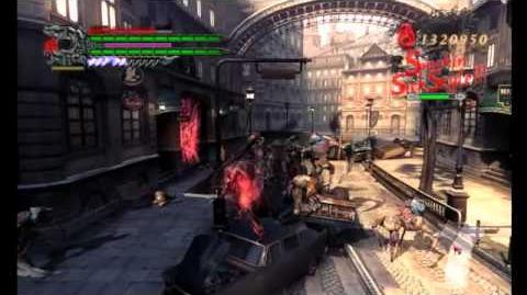Devil May Cry 4 - Super Dante in Legendary Dark Knight Mode Mission 17