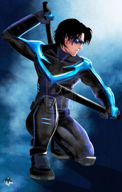 Nightwing by radiant grey-d5dq412