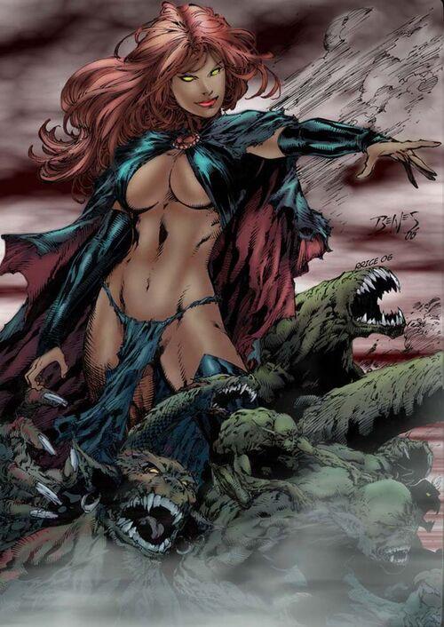 Goblin Queen Ver 1 by rrice