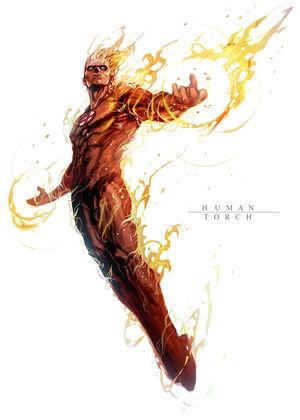Burning man by nefar007-d5rz3o8