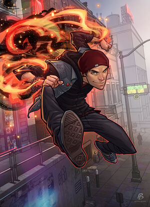 Infamous second son by patrickbrown-d7b139h