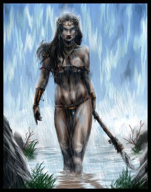 Amazon Warrior by Destinyfall