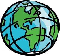 Earth clip art 24300
