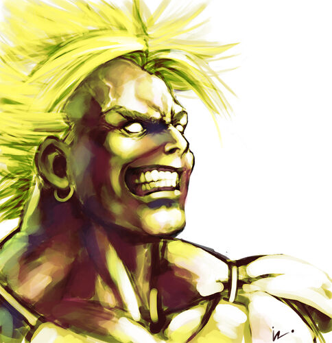 Broly by iroisaac