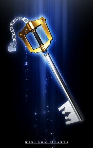Keyblade Kingdom Key II by mogcaiz