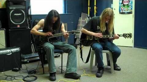 'Thunderhorse' dual guitar cover ...Toki and Skwisgaar?