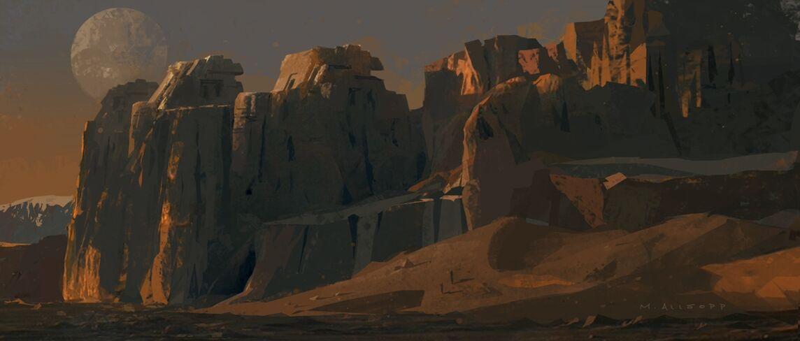 Ancient alien ruins by skybolt-d3ehubu