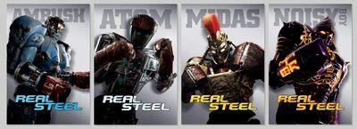 Real-Steel-Robots