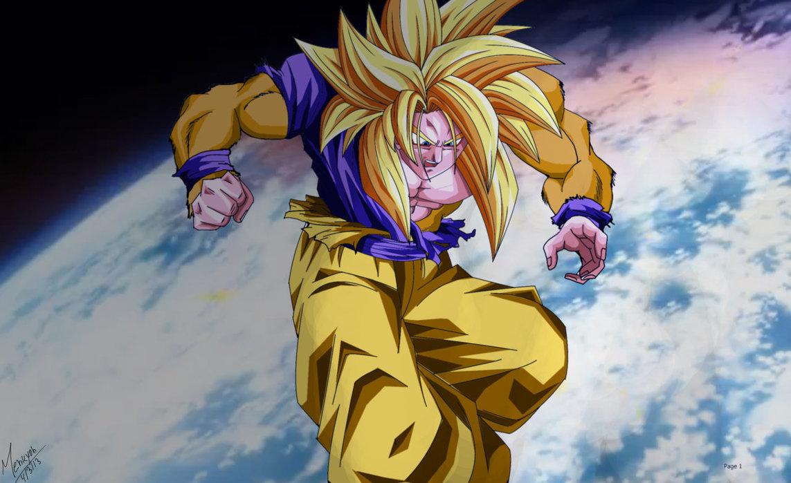 Ssj God Goku Wallpaper 4