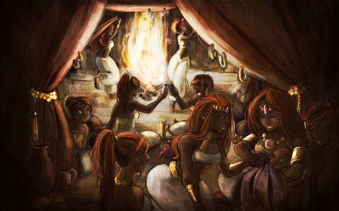 Birth of a gerudo king by kichisu-d5myeit