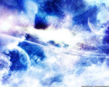 Heaven in space