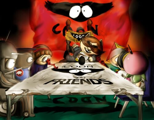 Coon ference in session by gardenofchaos-d35bx3g