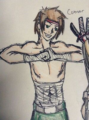 "Connor ""Demon Eyes"" Ryoji"