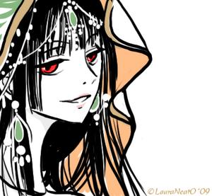 Oekaki yuko from xxxholic by lauraneato