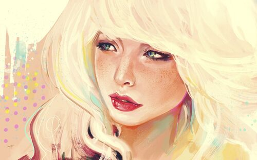 178063 drawing-girl-blonde-hair-freckles p
