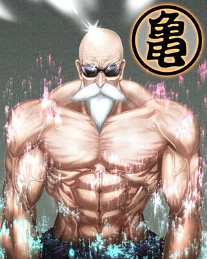 Master roshi in color by luckfield-d2zuq1s