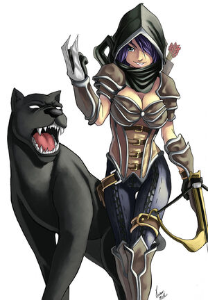 Demon hunter w panther final by andreparsa-d3koh98