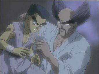 Tekken TMP - Kazuya and heihachi