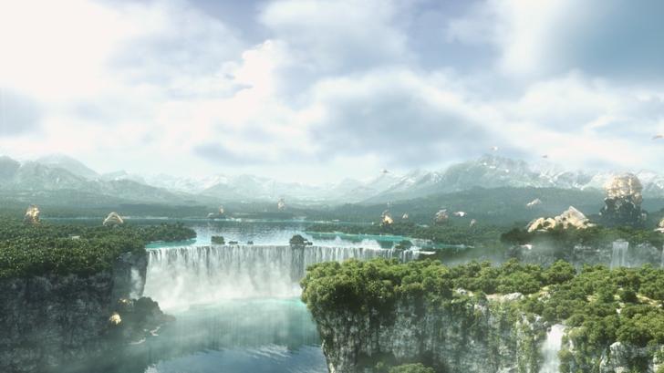 Final Fantasy Landscapes 1600x900 Wallpaper Wallpaperfo 32