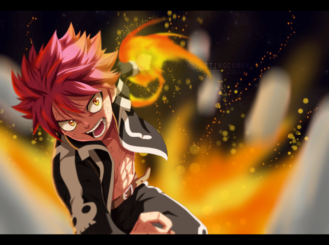 Fairy tail 374 natsu fire by stingcunha-d79afgz