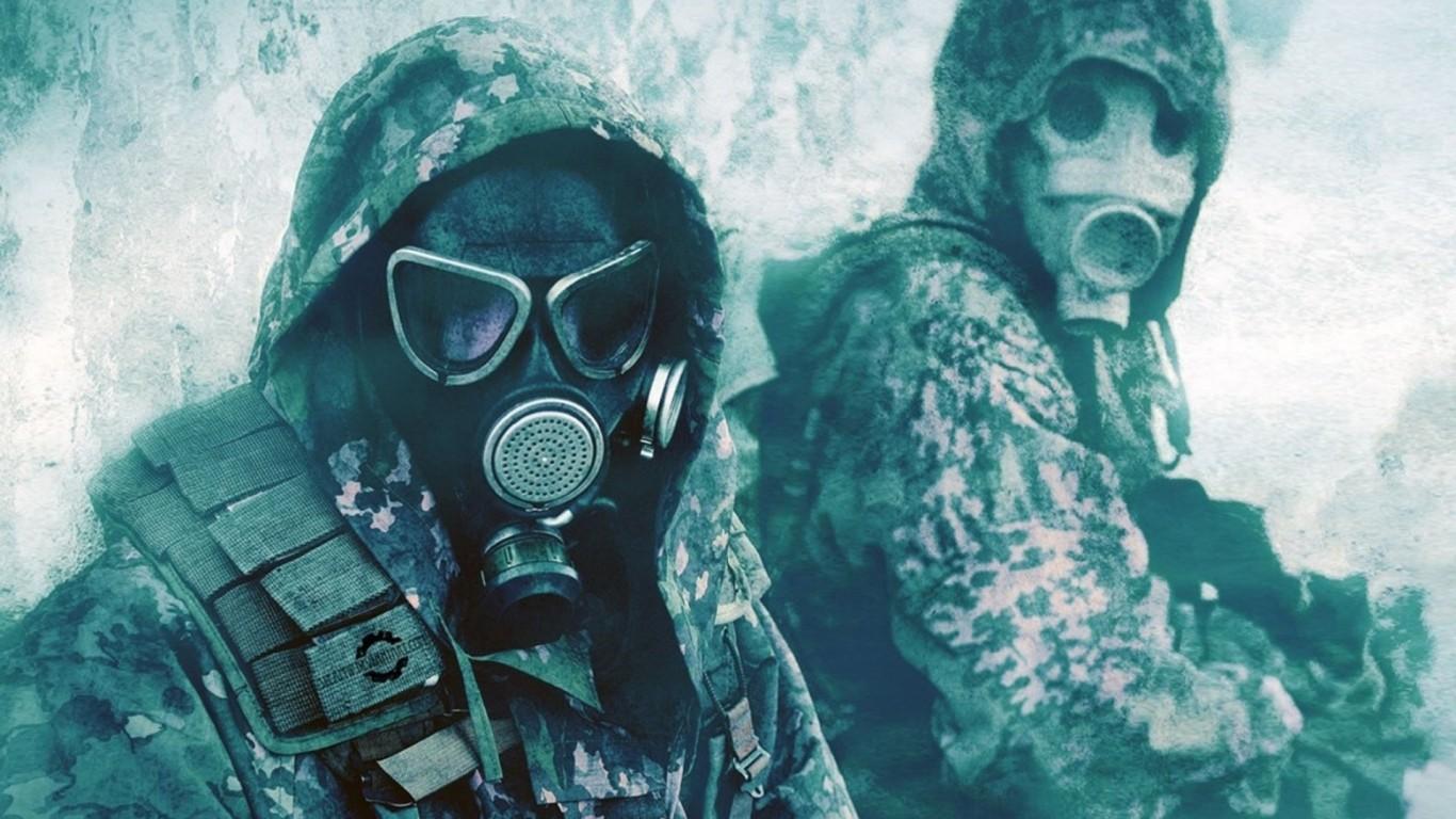 Military Anime Masks Camouflage 250938