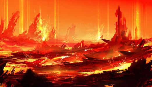 Volcano core by blueroguevyse-d6tbs43