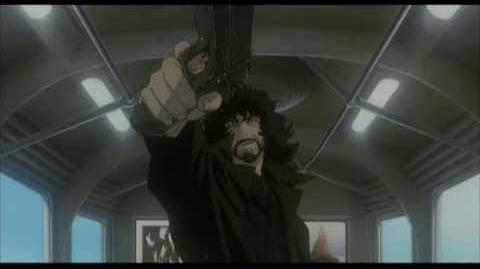 Cowboy Bebop Movie HD - Train Scene (Spike vs Vincent)