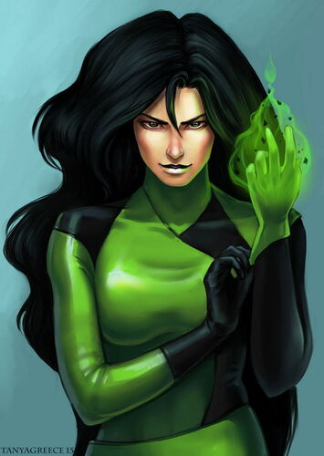 Shego by tanyagreece-d8e95rr