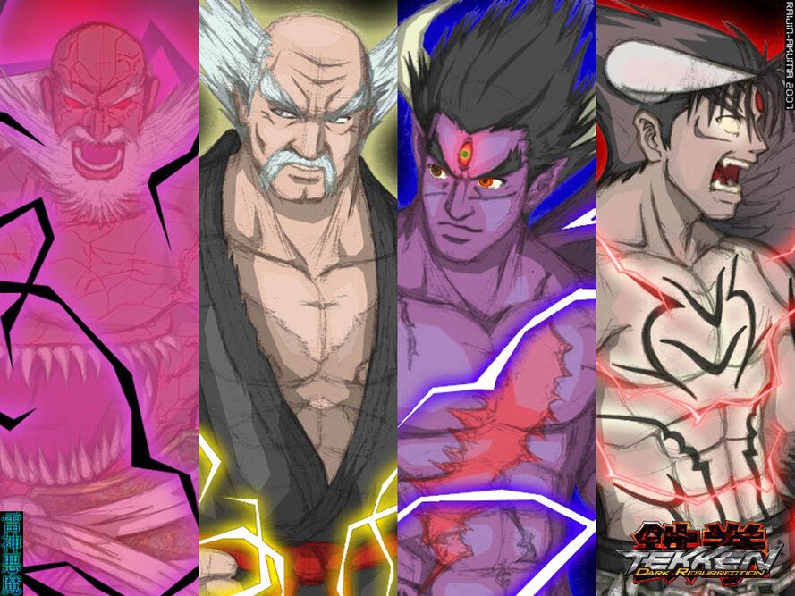Wallpaper Cursed Bloodline by raijin akuma