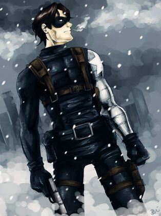 Winter soldier by orcasaurus