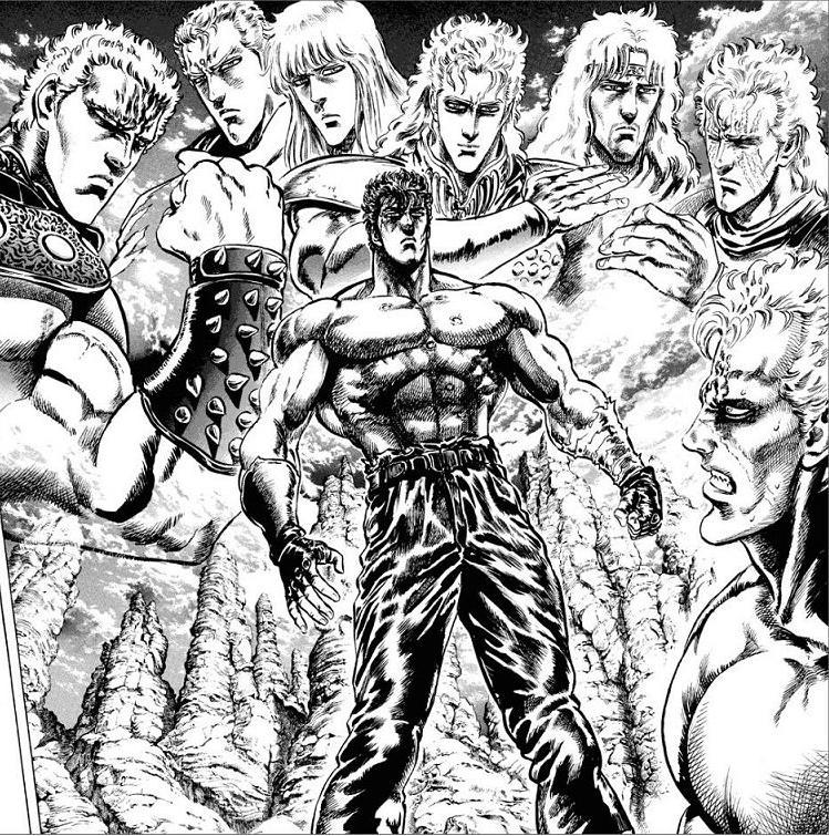 Hokuto no Ken (manga cast)