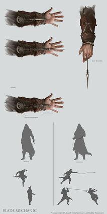 Hidden blades 4