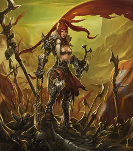 Red sonja by leejj-d560yxo
