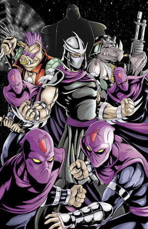 Tmnt shredder and the foot by wil woods-d5qy0e3