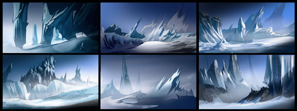 Ice world thumbnails by meckanicalmind-d5xjb9z