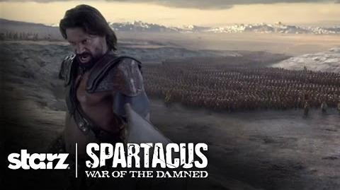 "Spartacus Episode 8 Scene Clip ""Shall We Begin?!"" STARZ"