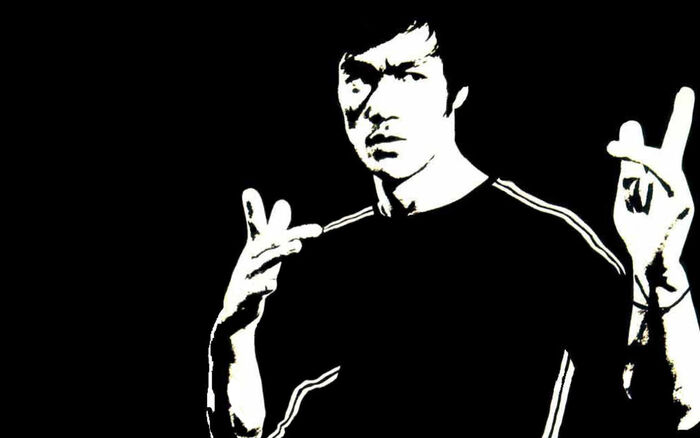 6470 bruce lee hd wallpapers black-white