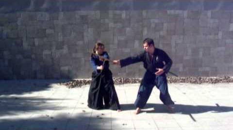 Ogawa Ryu TessenJutsu - Nihon Me to Sanbon Me
