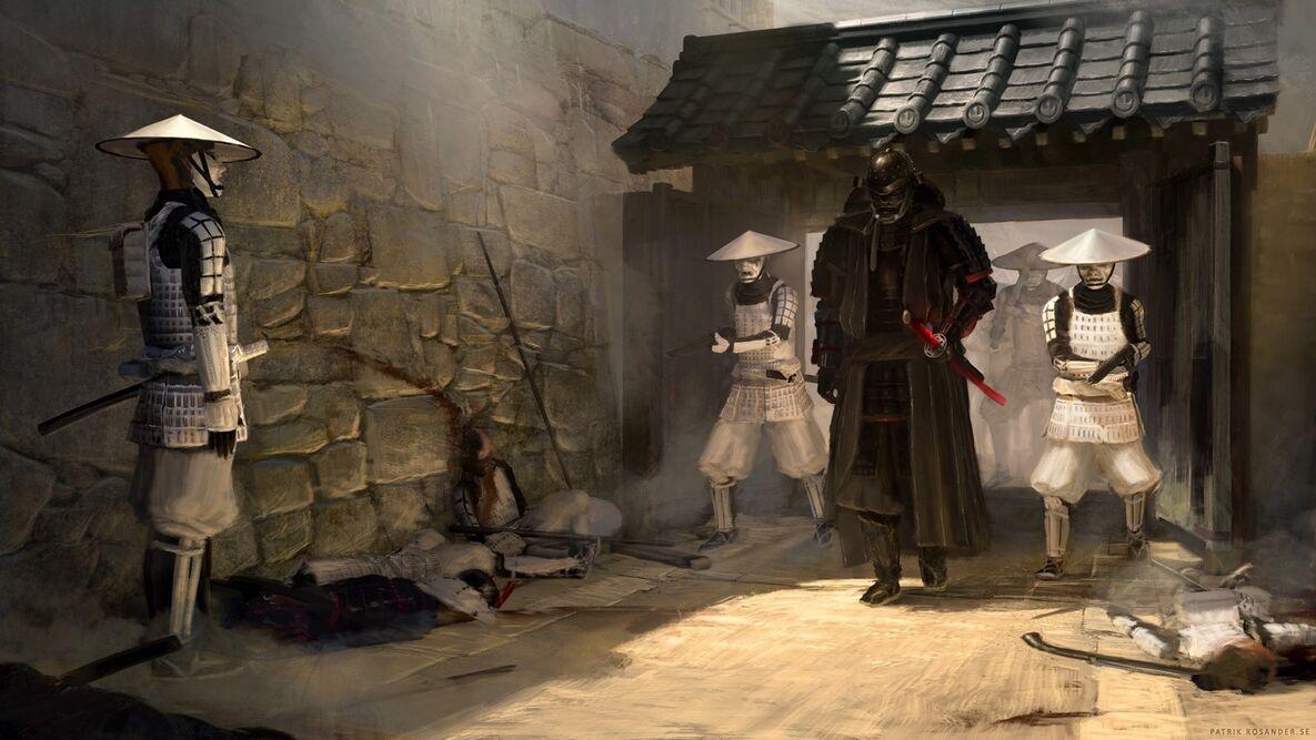 Star-Wars-in-feudal-Japan-by-Patrik-Rosander