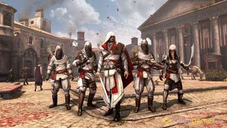 Assassins Creed Brotherhood - Group Pic