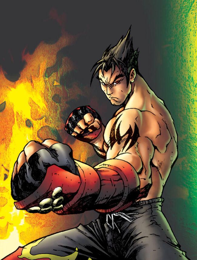 Jin Kazama Roger Cruz by PoucasTrancas