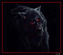 Evil Wolf by y0u 3nj0y mys3lf